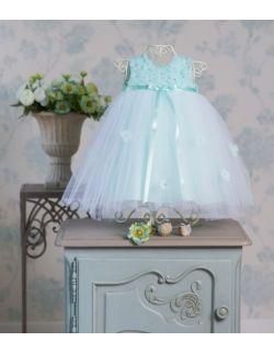 Sukienka wizytowa, dla druhenki lub do chrztu Karina Miętowa