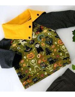 Czadowa bluza z kominem Stworki