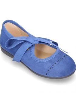 balerinki Cute niebieskie