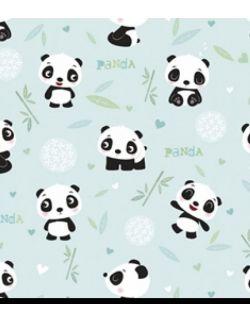 Chustka z daszkiem Panda