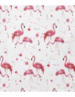 Chustka z daszkiem Flamingi