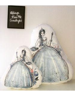 Poduszka Baby Dekor - Królowa lodu 100% bawełna