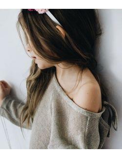 Sweterek lniany