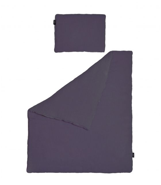 Pościel MUŚLIN fioletowy 100x135 cm