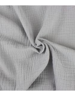 Pościel MUŚLIN szary+szary beż 100x135 cm