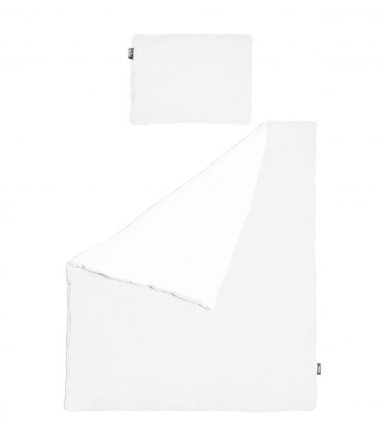 Pościel MUŚLIN Biała 75x100 cm