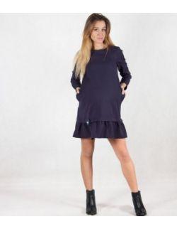 MamaBelle Sukienka ciążowa do karmienia Navy Blue