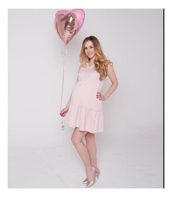 f338ce87c5 MamaBelle Sukienka ciążowa do karmienia Little Rose - Mamaville