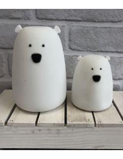 Lampka Miś Biały - mały