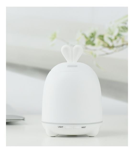 Dyfuzor, lampka- królik biały
