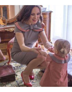 Mama i córka - klasyczna stylizacja Retro