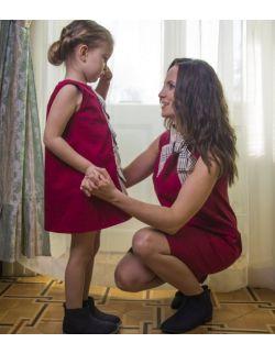 Komplet sukienek dla mamy i córki - Princeski