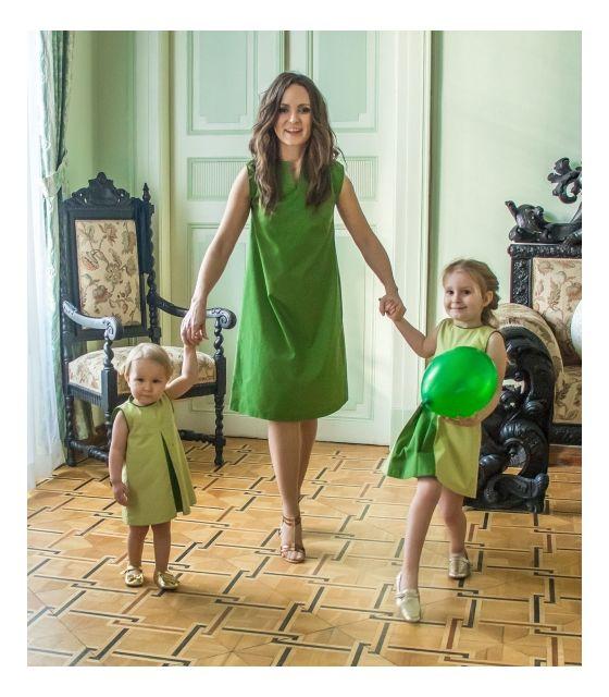 6b3ab1c3e8 Komplet sukienek dla mamy i córki -