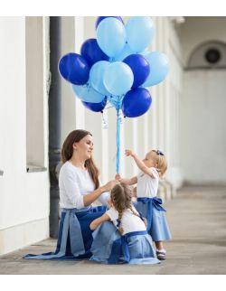 Komplet spódnic dla mamy i córki - Blue Sky