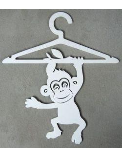 """Wieszaki na ubranka dziecięce """"Małpie figle"""""""