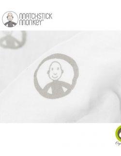 Pieluszki muślinowe BIO Matchstick Monkey