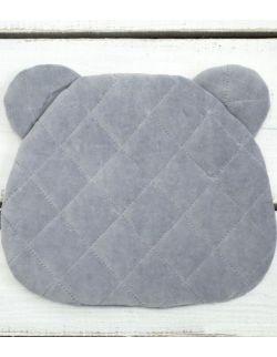 Misiowa Poduszka Royal Baby Grey