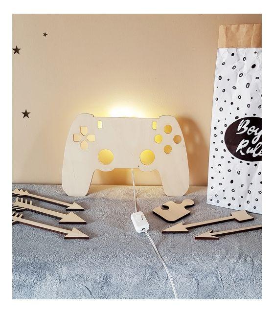 Drewniana lampka nocna - Kontroler