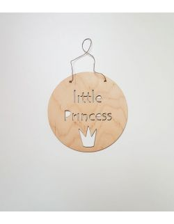 Drewniany proporczyk - Little Princess
