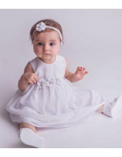 Sukienka do chrztu/wizytowa Iga BIAŁA
