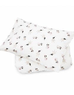 Komplet bawełnianych poszewek na pościel XL Terier Happy pieski