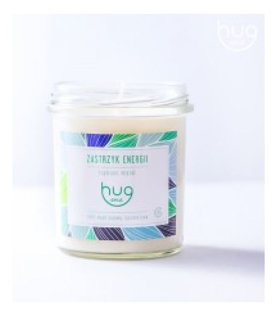 Sojowa świeca zapachowa - Zastrzyk energii