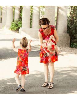 Sukienka Carla kwiaty- dziecięca