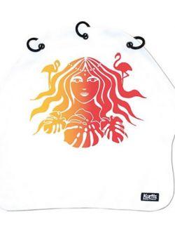 Osłonka do wózka na słońce i wiatr AMAZON YELLOW RED