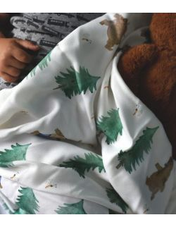 Otulacz bambusowy niedźwiadki - z misiem - Cuddle Dreams