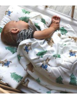 tulacz bambusowy niedźwiadki - w łóżeczku 2 - Cuddle Dreams