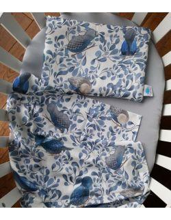 Poduszka bambusowa Ptaki - w zestawie