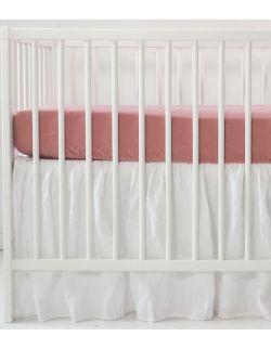lniana prześcieradło do łóżeczka 120 x 60 cm