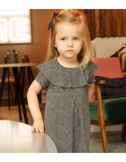 Sukienka Olivia czarno- biała- dziecięca