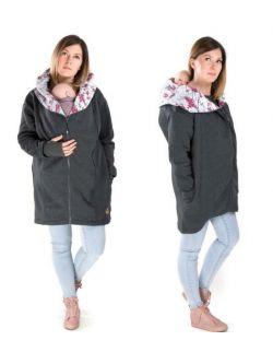 Wielofunkcyjny płaszczyk dla dwojga / ciążowy