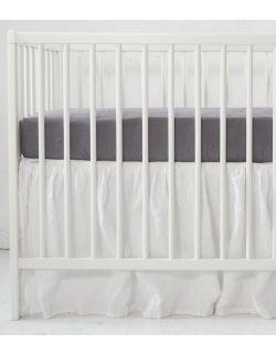 lniane prześcieradło do łóżeczka 120 x 60 cm