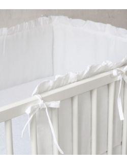 lniany ochraniacz do łóżeczka 120 x 60 cm