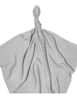 Otulacz Bambus z Mlekiem 110x120cm kolor Silver
