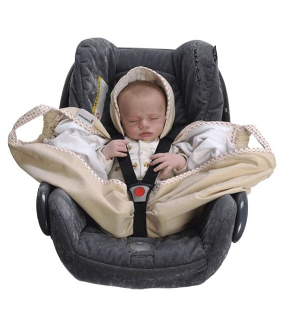 Snugglebundl baby blanket Barley Cream