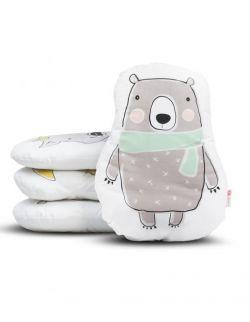 Poduszka przytulanka 42 cm - Niedźwiedź