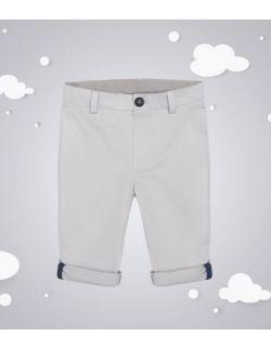 Spodnie chłopięce typu chinos szare