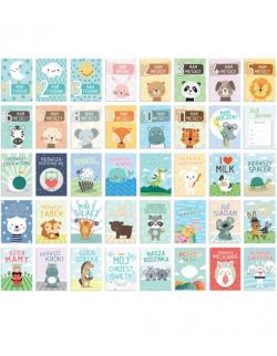 KARTY DO ZDJĘĆ - Pierwszy rok życia dziecka - ZOO