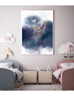 Latający słoń, plakat