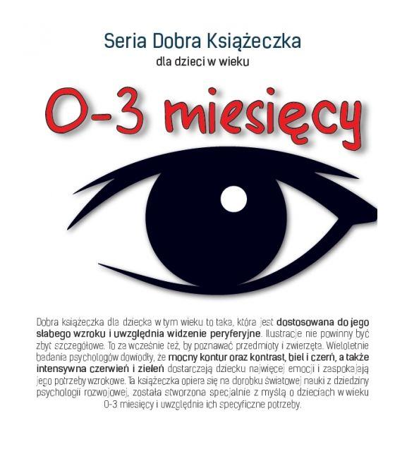 Seria Dobra Książeczka 0-3 miesięcy