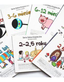 Seria Dobra Książeczka -zestaw (7 książek)