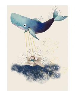 Dziewczynka i wieloryb