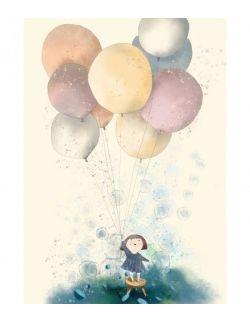 Dziewczynka i balony