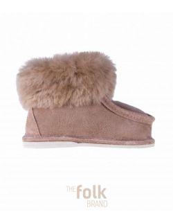 The Shoes No. 2 - Obuwie domowe dziecięce - Beżowy