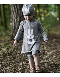 Tunika Funny Bunny szara