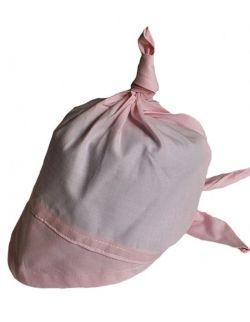 Chustka z daszkiem od 0-12 lat Różowa