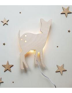 Ścienna nocna lampka LED - Sarenka